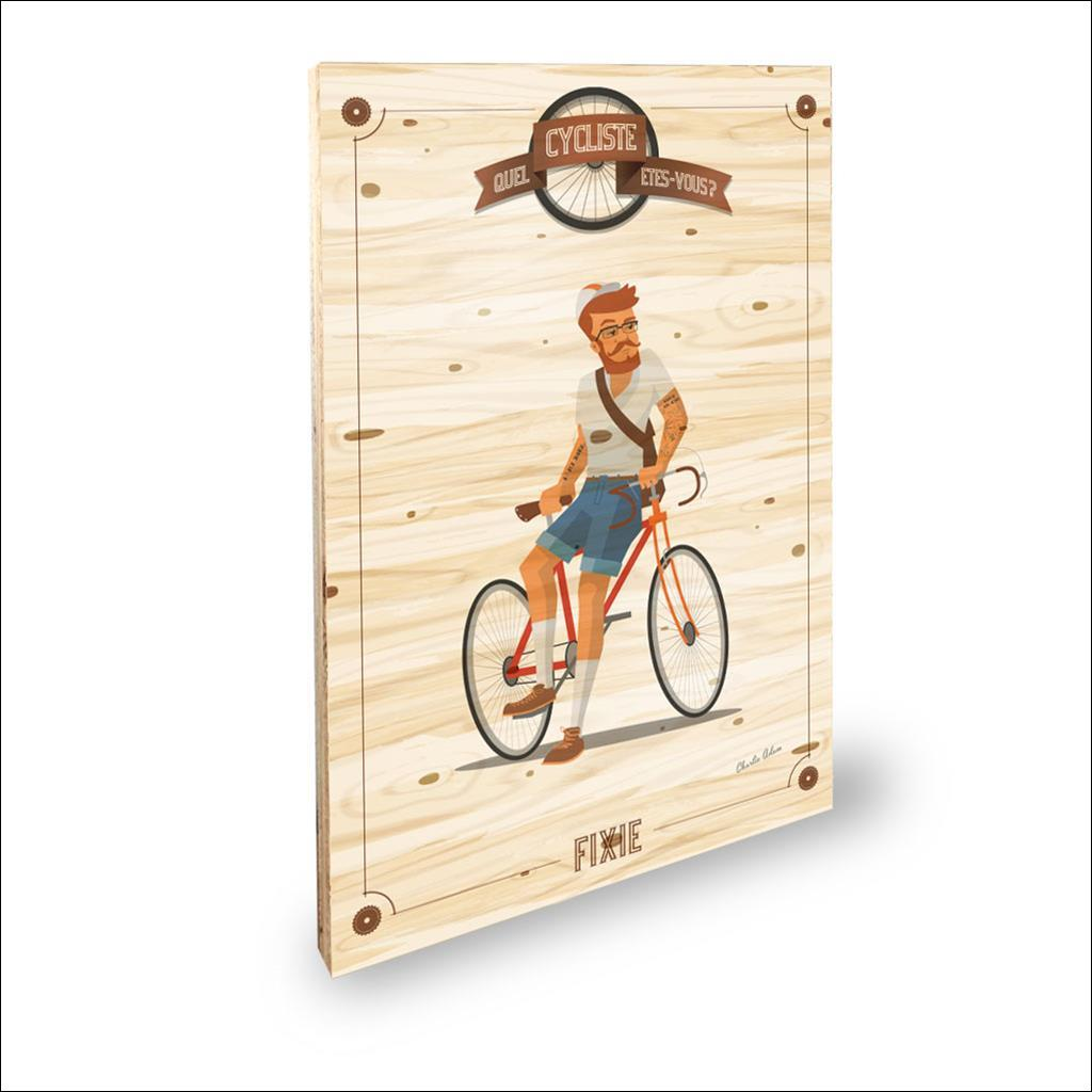 Cycliste Fixie