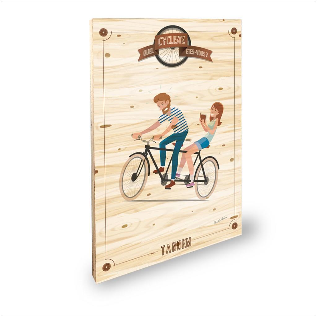 Cycliste Tandem