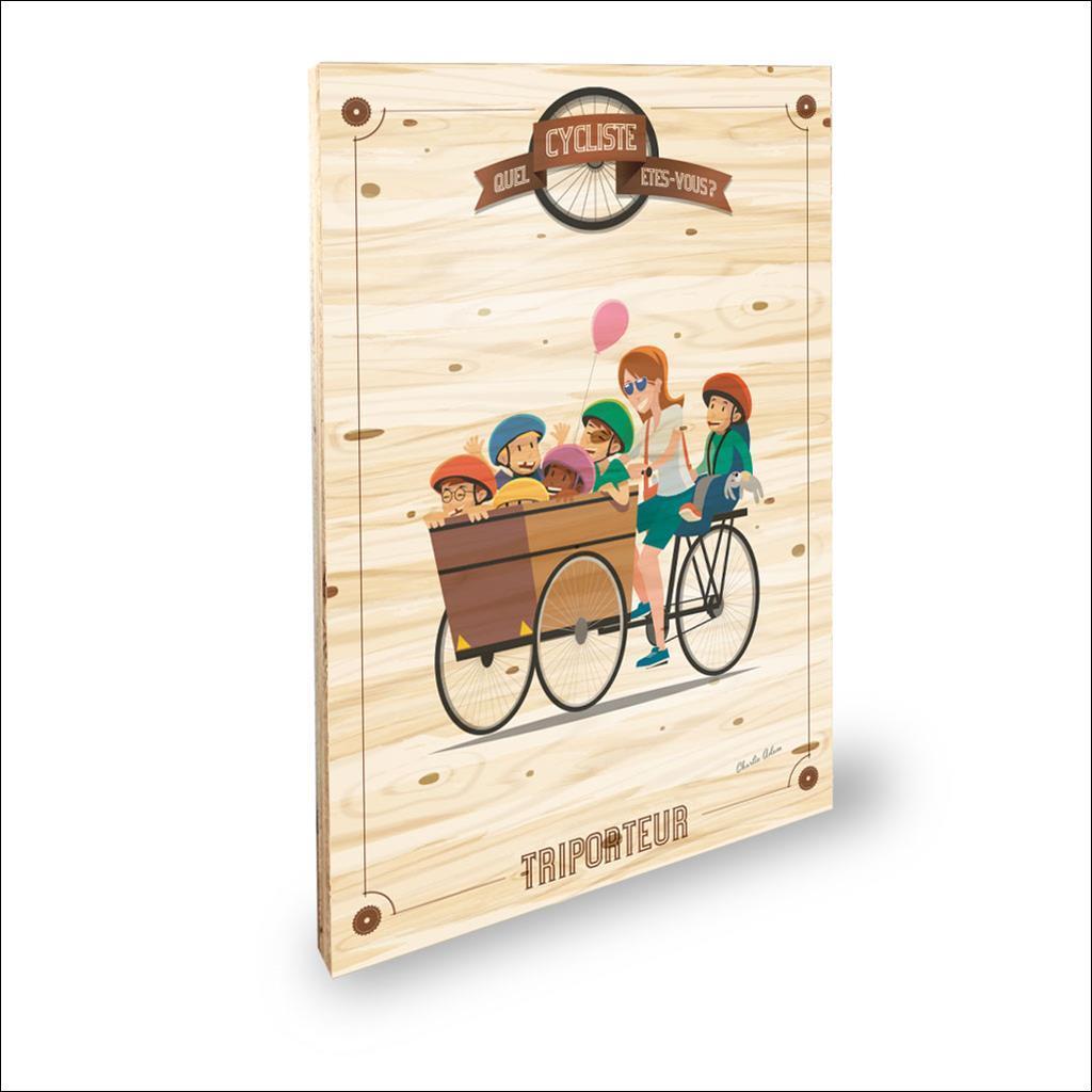 Cycliste Triporteur