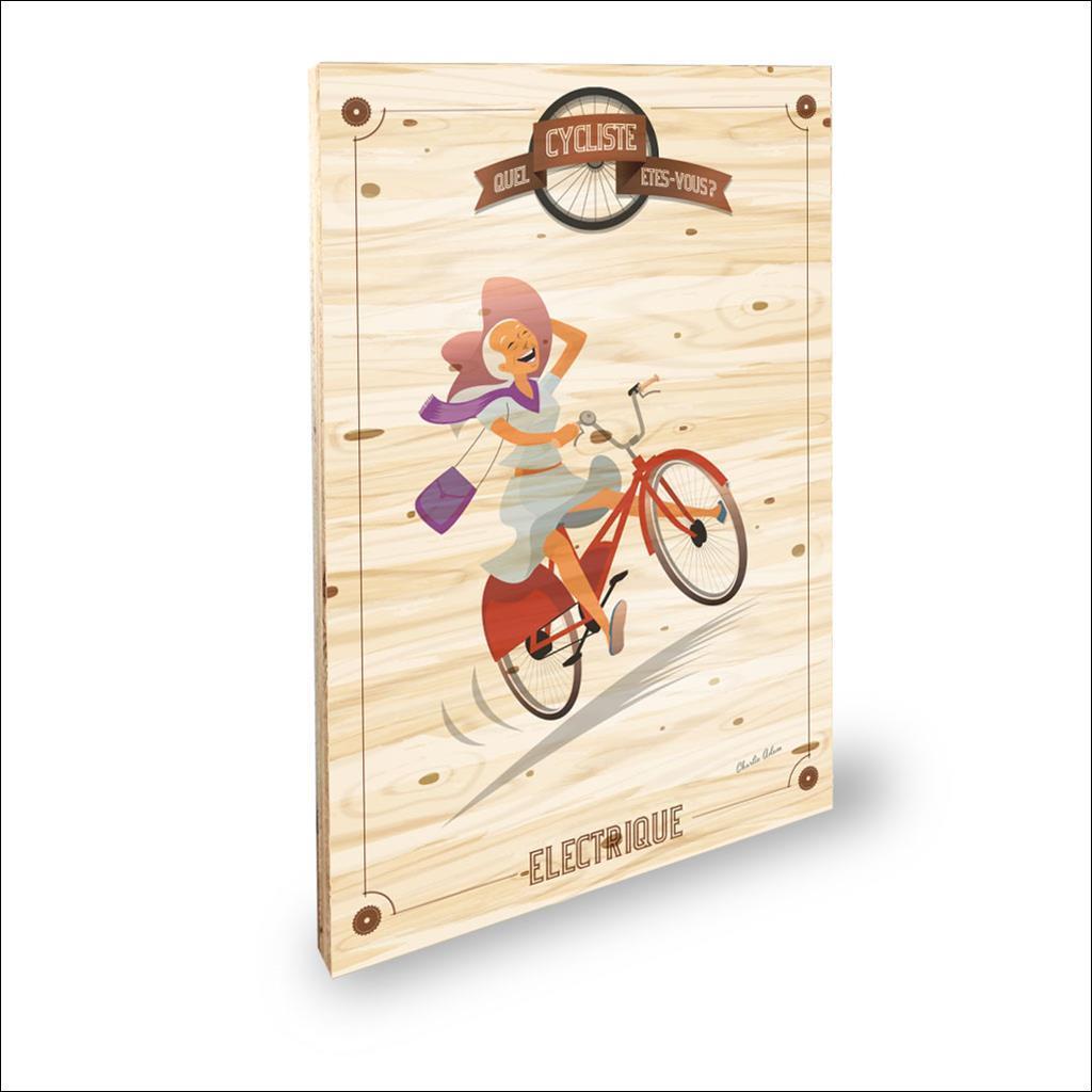 Cycliste Electrique