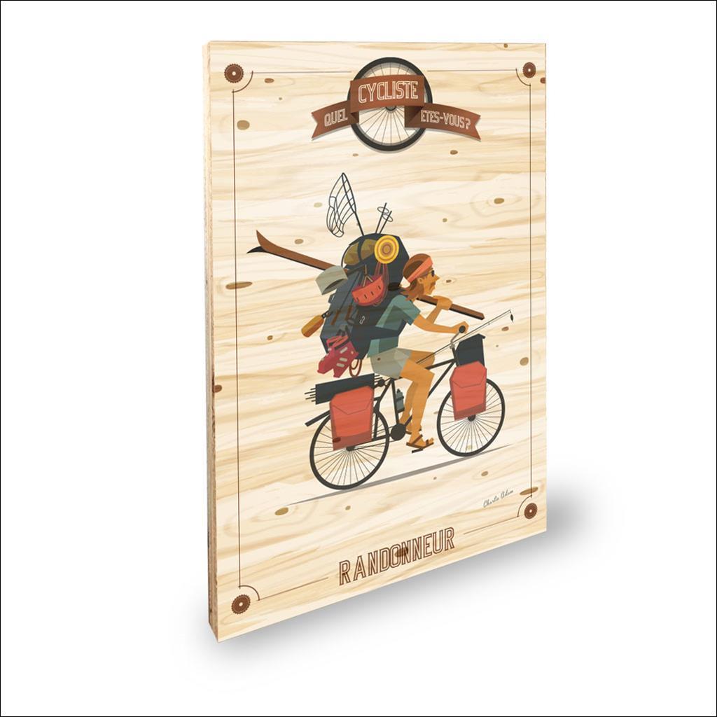 Cycliste Randonneur