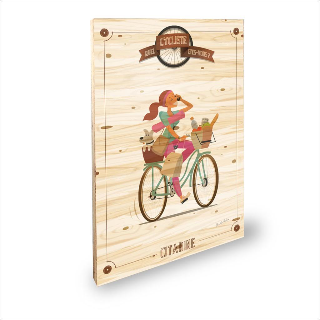 Cycliste Citadine