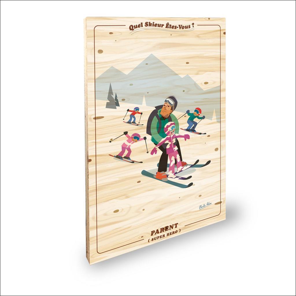 Skieur Parent