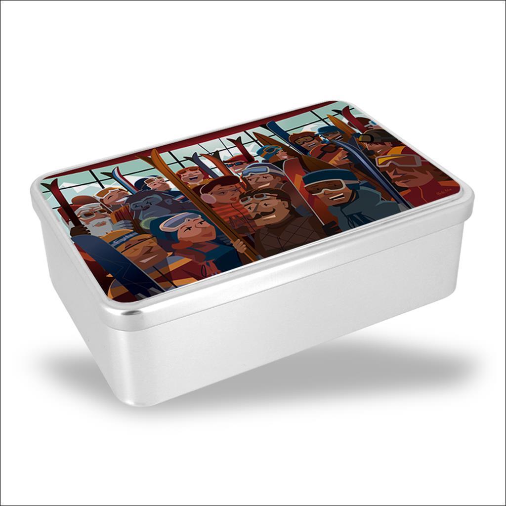 Biscuit box 100 ans de glisse