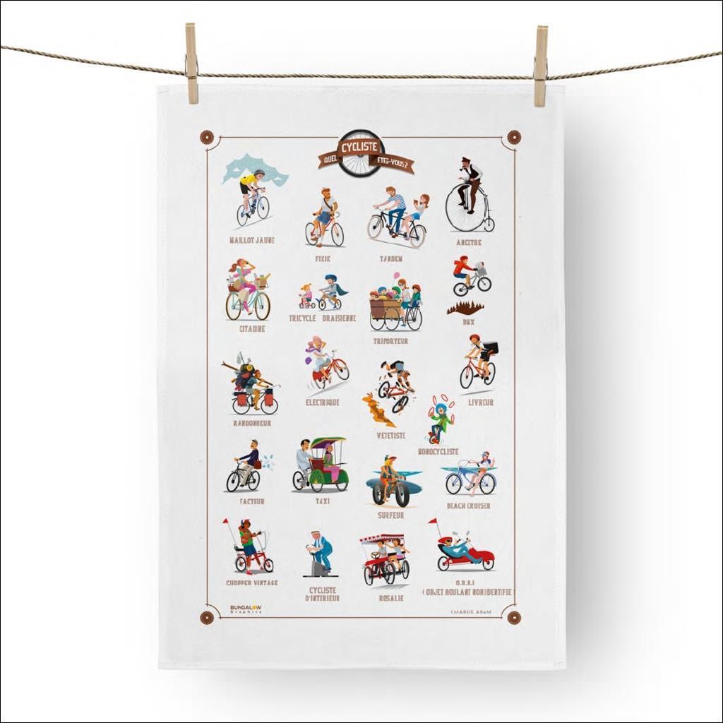 Torchon Quel cycliste êtes vous ?