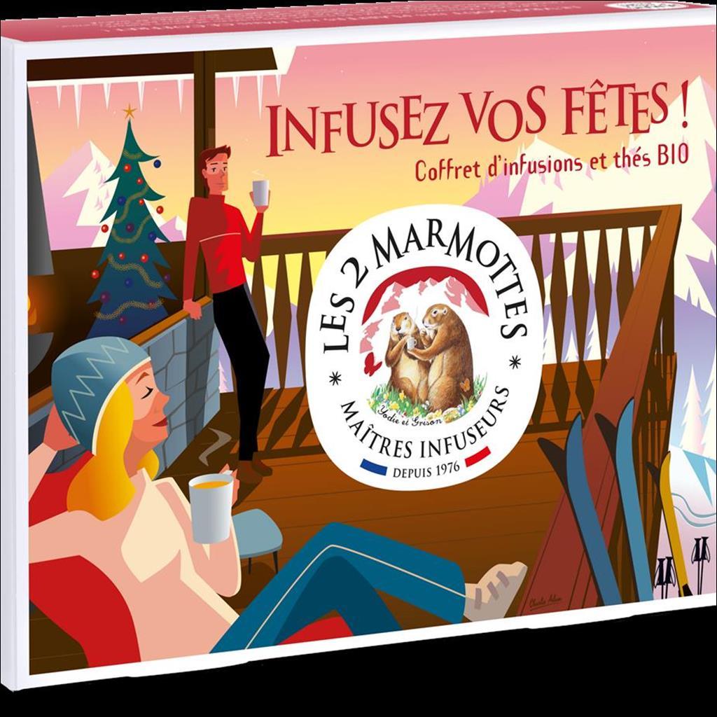 Coffret infusions les 2 Marmottes